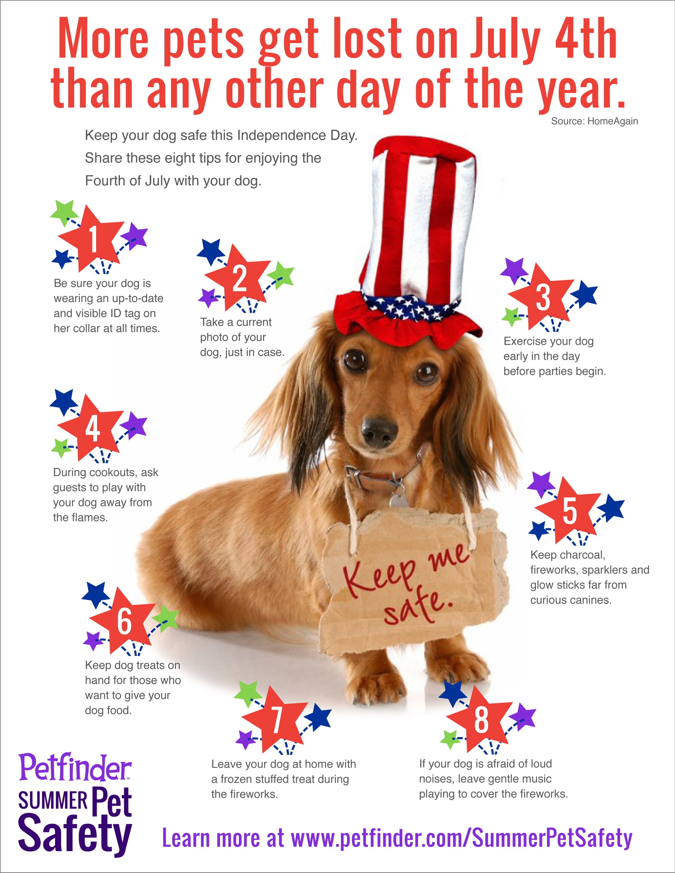 Keeping Pets Safe 4th of July